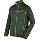 Regatta Walson Hybrid Softshell Jacket Men Racing Green/Racing Green/Seal Grey